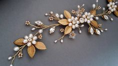 Bridal Headpiece Bridal Hair Vine Crystal bridal hair piece