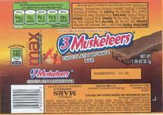 3 Musketeers Chocolate Brownie Bar