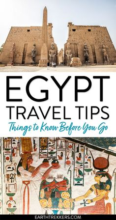 Egypt travel tips and advice: is Egypt safe, best time to visit, with advice for tipping, drinking water, etc. #egypt #traveladvice #traveltips