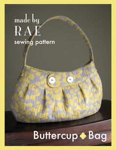 (Free!) Buttercup Bag Sewing Pattern | Made By Rae Please consider buying the pattern if you will be making profit from this tutorial!