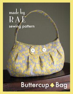 Kikuyu: Le sac Bouton d'Or: un patron gratuit! (Buttercup bag, by Rae), en français