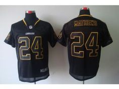 Ryan Mathews 2012 NEW NFL San Diego Chargers #24 Lights Out Black elite jersey
