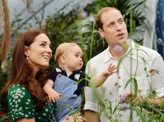 Family Portraits of the Cambridge Family Released for Prince George's First Birthday