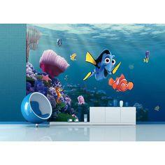 Nemo kinder behang! - zowel voor een jongens als meisjes kinderkamer!
