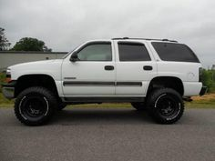 2001 Chevrolet Tahoe LS 6 Inch Lift DVD Player Lifted Chevy Tahoe, Lifted Chevy Trucks, Chevrolet Tahoe, Gm Trucks, Gmc 4x4, Lifted Trucks For Sale, Jeeps, Dream Cars, Motorcycles
