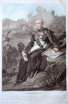 François Christophe Kellermann, Duc de Valmy (né le 28 mai 1735 à Strasbourg…