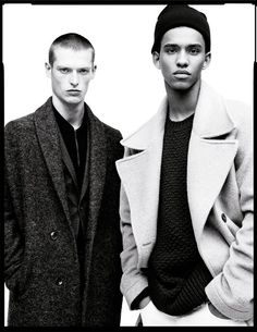 ZARA Spotlights The Male Model for Their Autumn Campaign
