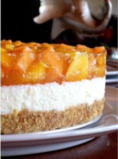 Easy Vanilla Cake Recipe, Easy Cake Recipes, Sweet Recipes, Cookie Recipes, Dessert Recipes, Hungarian Desserts, Hungarian Recipes, Summer Desserts, No Bake Desserts