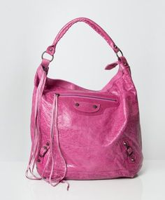 Buy authentic secondhand designer vintage Balenciaga pink Classic Day bags at the right price at labellov online webshop safe secure online ...