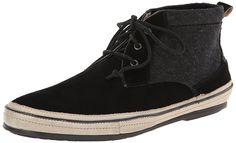 John Varvatos Men's Redding Fashion Sneaker, Black *** Quickly view this special  product, click the image : Fashion sneakers