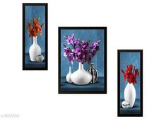 Checkout this latest Posters_0-500 Product Name: *Attractive Synthetic Frame Painting Combo* Material - Synthetic Size (L X W):  Frame 1- 6 in X 13.5 in Frame 2  - 10.5 in X 13.5 in Frame 3 - 6 in X 13.5 in  Description: It Has 3 Pieces Of Frame Paintings Work: Printed Country of Origin: India Easy Returns Available In Case Of Any Issue   Catalog Rating: ★4.1 (309)  Catalog Name: Jiya Attractive Synthetic Frame Painting Combo Vol 12 CatalogID_502840 C127-SC1611 Code: 902-3606506-084