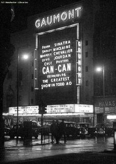 The Gaumont Cinema, Manchester city centre.