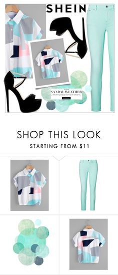"""SHEIN"" by amilasahbazovic ❤ liked on Polyvore featuring Ralph Lauren"