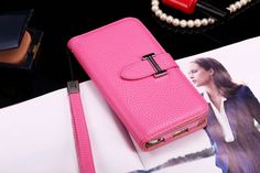 Buy Designer hermes iphone 6/6S Leather Case Cover Pink
