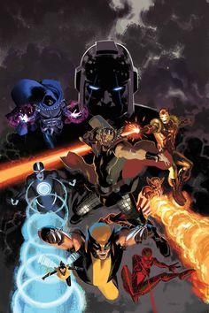Uncanny Avengers by Daniel Acuña