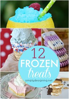 Simply Designing with Ashley: 12 Frozen Treats