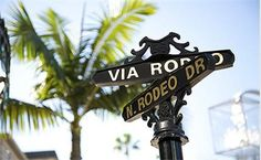 Let the shopping begin at Rodeo Drive in Beverly Hills. http://www.visitcalifornia.com/feature/shopping-hot-spots