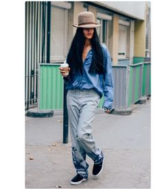 #fashionista #fashionblogger #fashionaddict #trend #trendy #cool #inspiration #nice #it #details #stuff #picture #style #lifestyle #chic #tshirt #outfitoftheday #outfit #fashion #streetstyle #streetwear #itgirl #hat #hairstyle #hair #denim #jeans #trousers