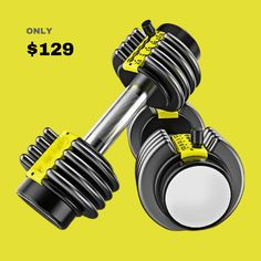 Quiet Workout, Gym Workout Tips, At Home Workout Plan, Workout Routines, At Home Workouts, Full Body Dumbbell Workout, Dumbbell Set, Diy Gym Equipment, Workout Equipment