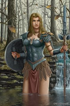 picture of an Amazon warrior