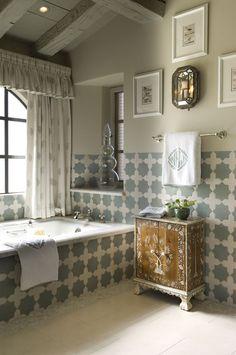 Marokkanische Fliesen Zementfliesen Interirdesign Ideen Wohnung Design  Anders Denken Mosaik Fliesen Kreative Wandgestaltung Badezimmer Fliesen In