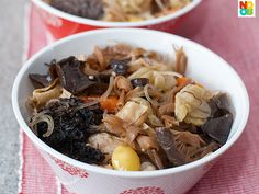 Chap Chye (Mixed Vegetables Stew) Recipe #Vegetarian #CNY #Chinese