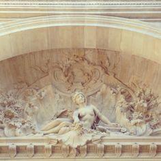 Parisian sculpture. #architecture #classic #paris #travel #statue