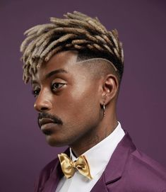 Cool Haircuts For Men – Men's Hairstyles and Beard Models Black Men Haircuts, Black Men Hairstyles, Top Hairstyles, Cool Haircuts, Trending Hairstyles, Dreads Styles, Curly Hair Styles, Dreadlocks Men, Dreadlock Fade