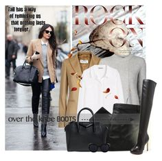 """Rock On: Over-The-Knee Boots"" by lacas ❤ liked on Polyvore featuring MaxMara, Proenza Schouler, H&M, MW Matthew Williamson, Givenchy, Sam Edelman and OverTheKneeBoots"