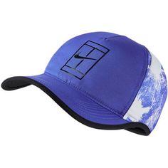 d7b4d6a6ddd27 Nike Court Aerobill Tennis Hat Blue 868556-452 NikeCourt Roger Federer  Unisex
