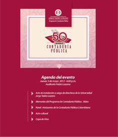 Celebración de los 50 años del programa de Contaduría Pública de la UJTL.