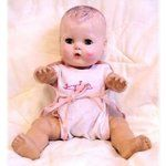 Tiny Tears baby doll.  One of my favorite dolls.