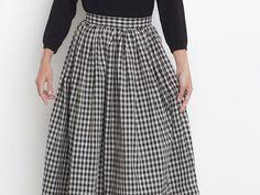 Tutoriel DIY: Coudre une jupe plissée mi-longue via DaWanda.com