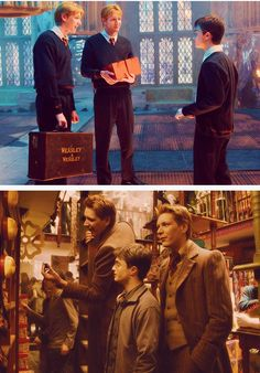 The growth of Weasleys Wizard Wheezes: All thanks to Harry ;)