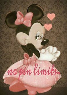 No pin limits~ Mickey Minnie Mouse, Mickey Mouse E Amigos, Mickey Mouse And Friends, Pink Minnie, Walt Disney, Disney Mickey, Disney Art, Retro Disney, Disney Love