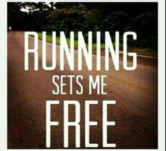 #running sets me free =)