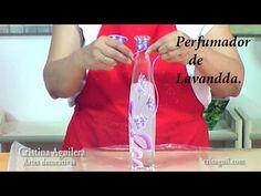 Pintar flores de lavanda , painting lavander - YouTube