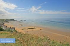 Gold Beach in #Normandy - Avalon Waterways #Travel #Cruise #RiverCruise #France