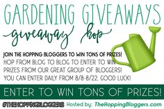 Enter to win $15 Paypal Cash in the fabulous Gardening Giveaways Giveaway Hop and put some extra money in your wallet. #THBHop #GiveawayHop