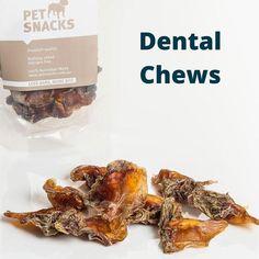 Pet Snacks Braces Cost, Dog Chews, Dental, Snacks, Pets, Food, Frida Kahlo, Appetizers, Essen