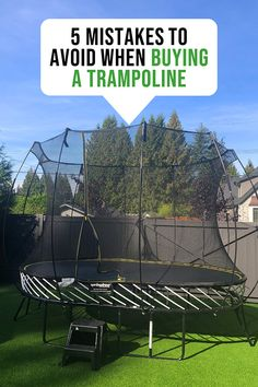 If you are looking for tips on how to choose a trampoline, then you are in the right place. There are several mistakes that people make when they buy their first trampoline which often results in them having to spend… Trampoline Safety, Backyard Trampoline, Backyard Playground, Backyard For Kids, In Ground Trampoline, Trampolines, Shopping, Houses, Mansions