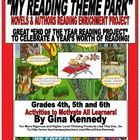 """EXCELLENT """"END OF THE YEAR"""" READING ENRICHMENT PROJECT!  STUDENTS CELEBRATE THEIR FAVORITE NOVELS AND TURN THEM INTO THE """"ULTIMATE THRILL RIDES"""". T..."""