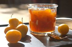 Take advantage of fresh plums in season to make delicious plum jam to enjoy for breakfast well into the winter. Plum Jam Recipes, Vegetable Drinks, Food Is Fuel, Healthy Eating Tips, Food Menu, Caramel Apples, Food Photo, Veggies, Jars