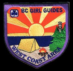 BC Girl Guides-- wish I had a patch like this :(