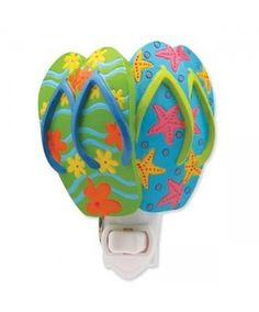 4980719ac Flip Flop Night Light Decorating Flip Flops