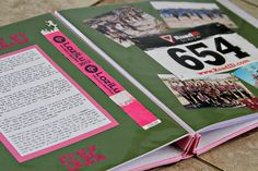 #DIY Running Scrapbook