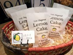RHカフェのレモンケーキ