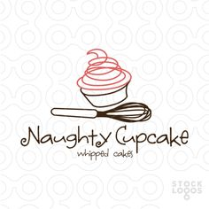 Cute hand written logo, for that hipster bakery on the trendy corner. Clever…