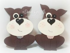 Today we will be making this adorable doggie using a bunch of Stampn'Up! Punches  Check out the  video on my blog today .
