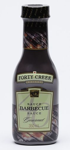 Bring the award winning taste of Forty Creek Whisky to your grill. This outstanding BBQ sauce, made by Heinz Canada, is infused with Forty Creek Whisky for a rich and bold flavour that harbours flavours of honey, vanilla and toasty oak. Barbecue Sauce, Bbq, Black Walnut Tree, What To Make, Charcoal Grill, Brisket, Outdoor Cooking, Pulled Pork, Sauce Recipes